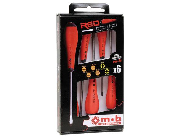 9129-PH Отвертки 6бр/RedGrip/-Ius&Mob